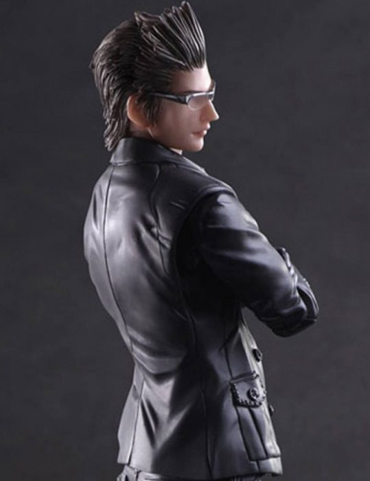 final fantasy xv ignis scientia black leather jacket
