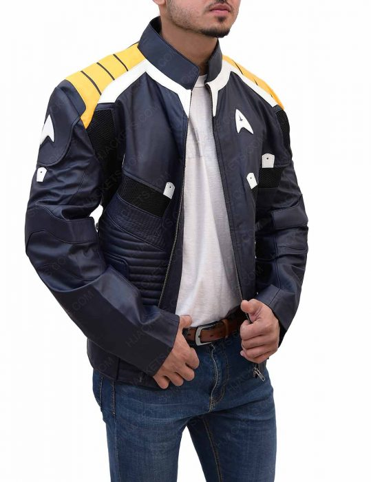 star trek beyond chris pine jacket