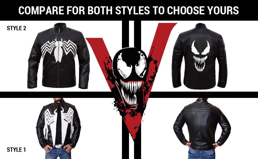 Tom Hardy Eddie Brock Venom Jacket for Sale | 50% Off