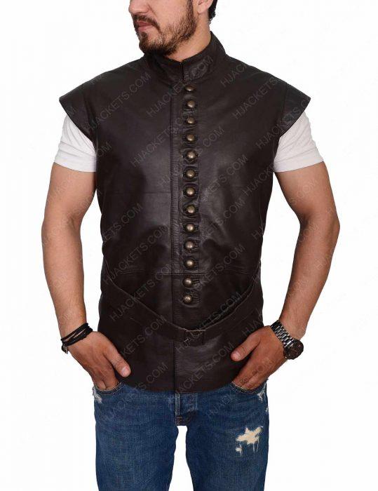 galavant leather vest
