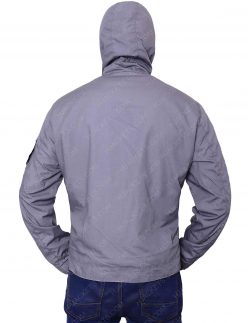 tom holland grey cotton jacket
