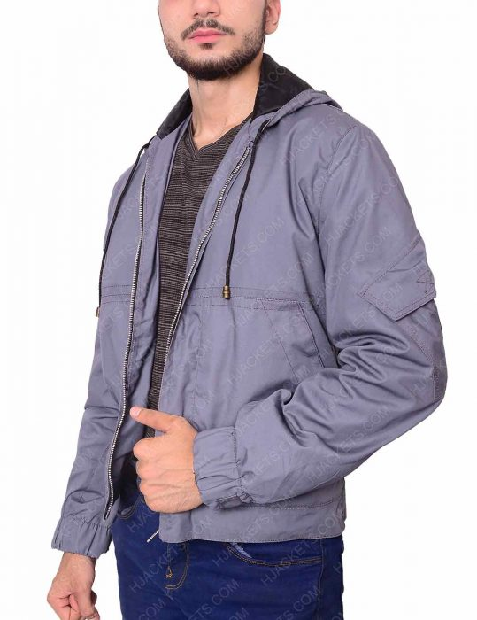 spider-man homecoming grey cotton jacket