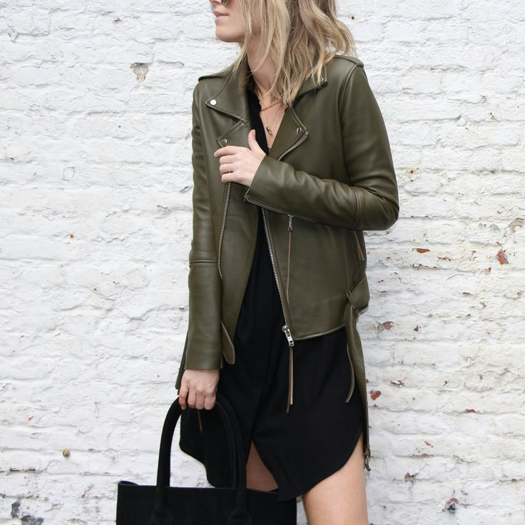 MILITARY BROWN/GREEN LEATHER OUTFITS