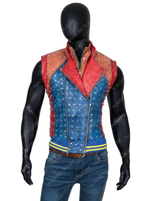 Descendants 2 Booboo Stewart Leather Vest