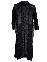 Edward James Olmos Leather Coat
