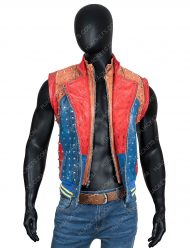 Jay Descendants 2 Booboo Stewart Leather Costume Vest