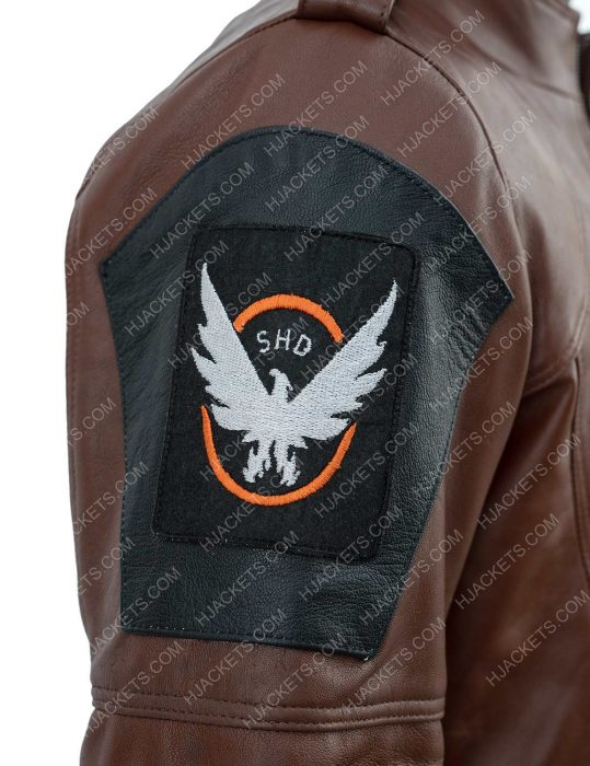 The Division Tom Clancy's Leather Jacket