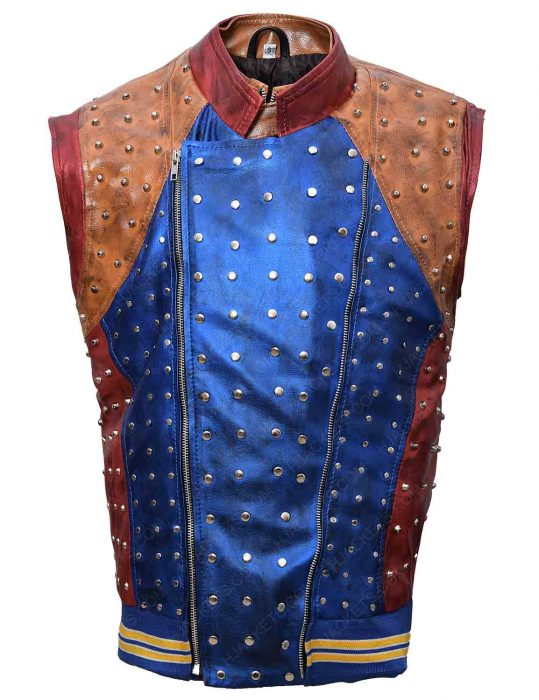 jay leather vest
