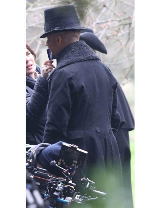 taboo black coat