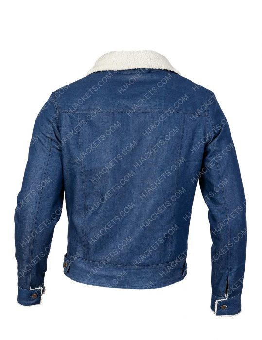 Videogame Tommy Jarvis Blue Jeans Jacket