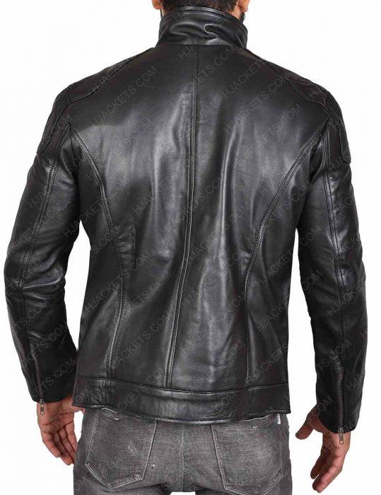 WWE Dean Ambrose Black Leather Jacket