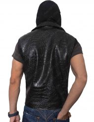 aj leather vest