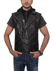 aj styles leather vest