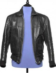 beatles george harrison leather jacket