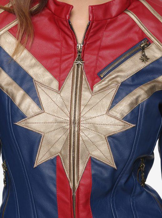 captain marvel carol danvers leather jacket (2)
