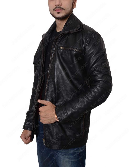 dear white people marque richardson leather jacket