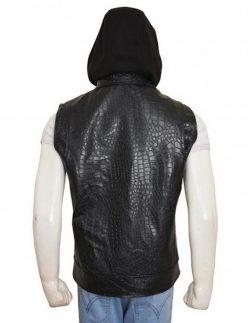 aj styles leather vest
