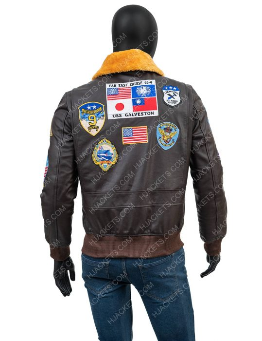 tom cruise top gun 2 bomber jacket