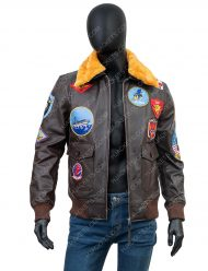 tom cruise top gun jacket with patch