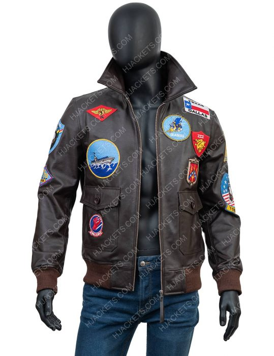 top gun 2 maverick tom cruise jacket