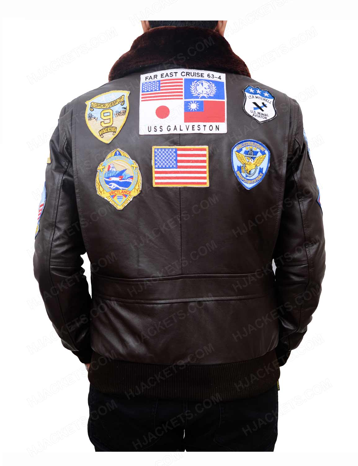 Top Gun Bomber Jacket | Tom Cruise Flight - Hjackets