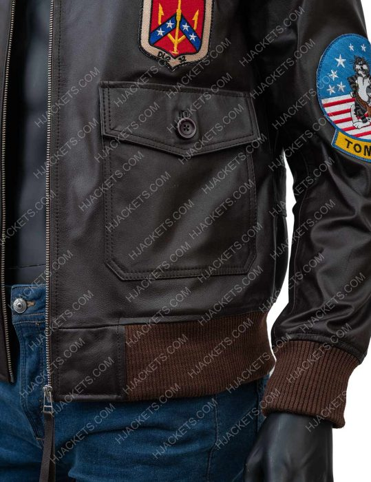 top gun maverick jacket