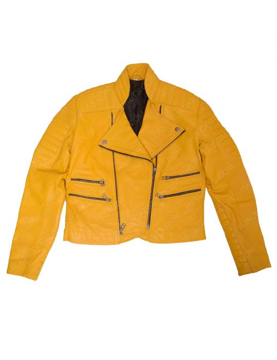 yellow-leather-jacket