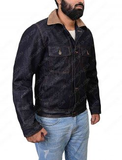 agent tequila denim jacket