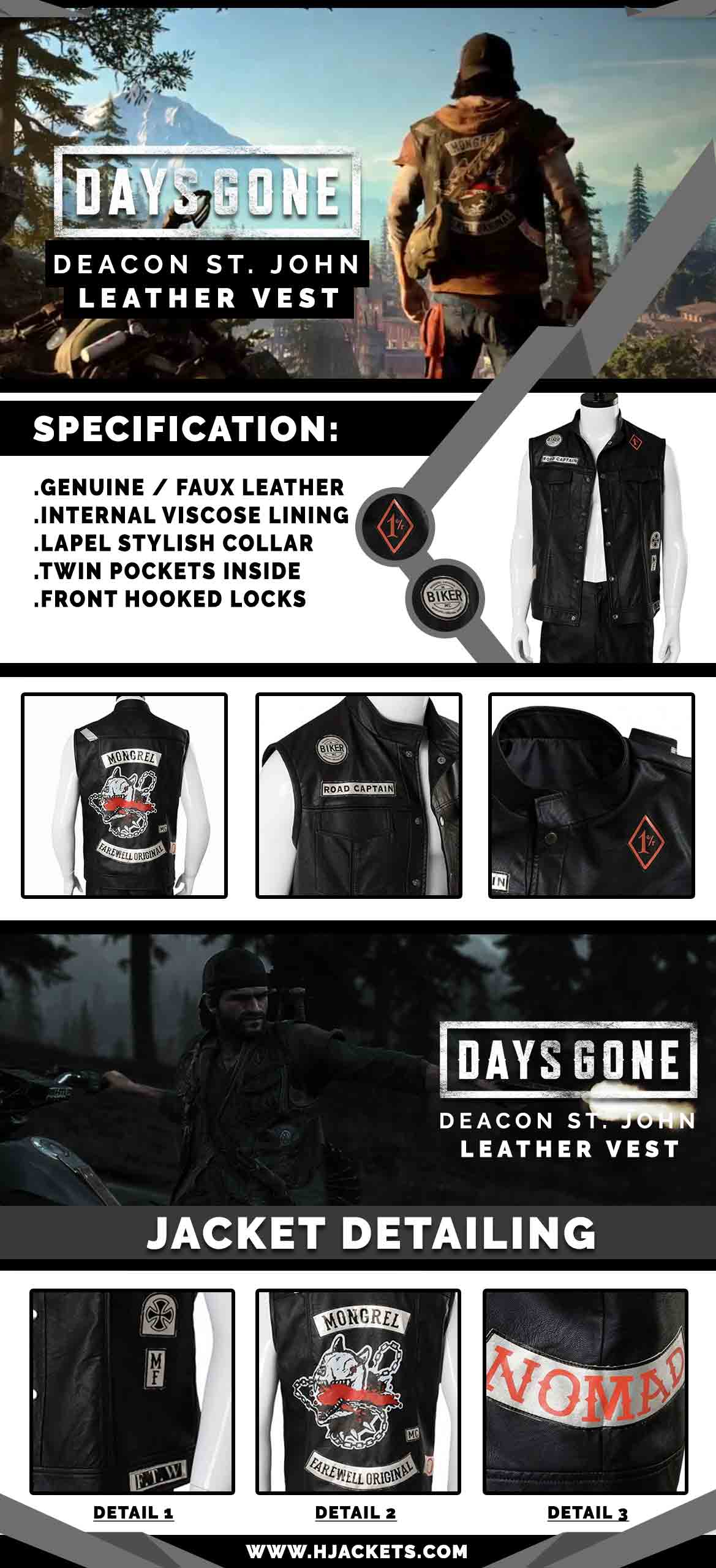 Days Gone Infographic