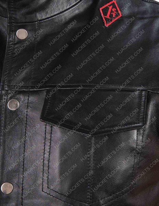 Days Gone St. John Deacon Black Leather Vest