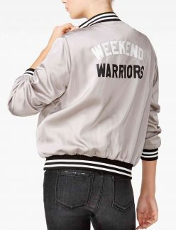weekend warriors bomber jacket