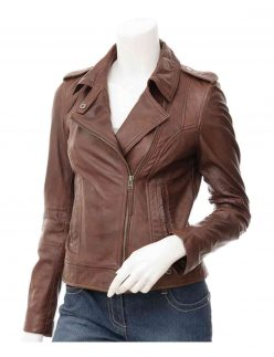 brown jacket for womens