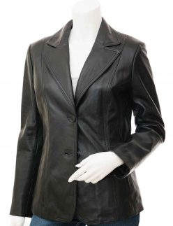 womens black blazer