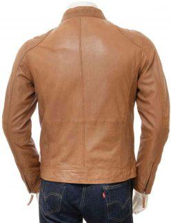 slim fit brown jacket for mens