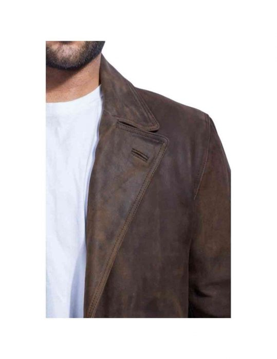 war doctor leather coat