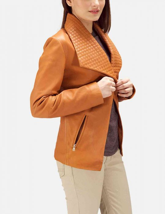 tan brown blazer
