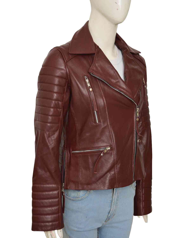 Brooklyn 99 Rosa Diaz Leather Jacket   shopwornwear.co.uk