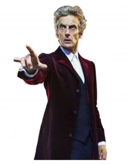 twelfth doctor maroon coat