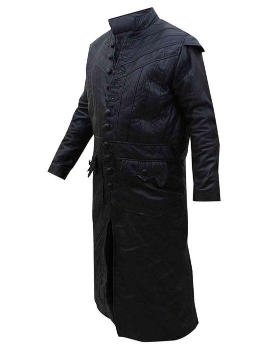 captain flint leather jacket