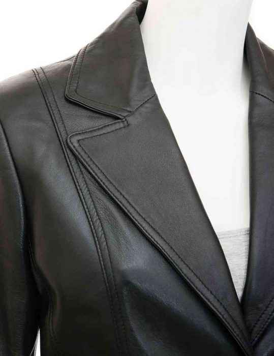 womens black blazer