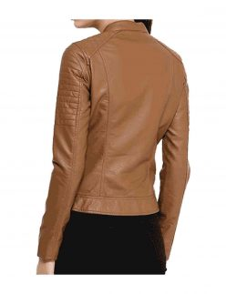 soft leather jacket for women