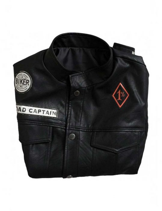 St. John Days Gone Deacon leather Vest
