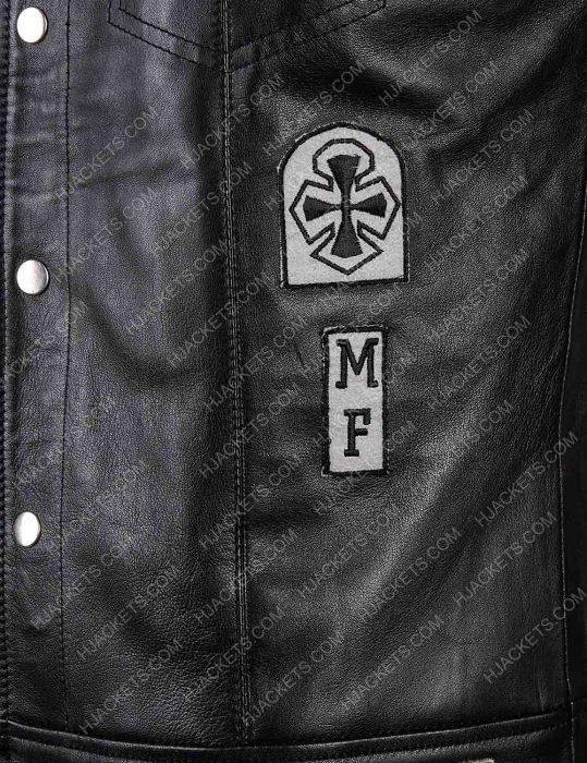 St. John Days Gone Leather Vest