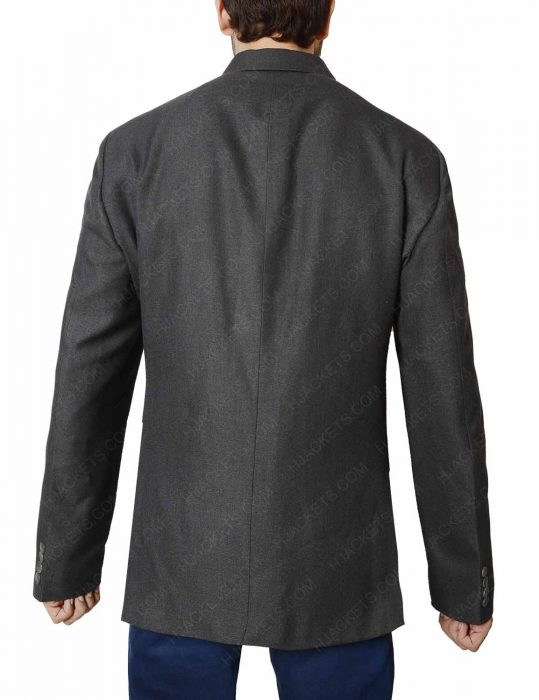 agent champagne jacket