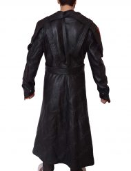 captain america the first avenger leather red skull leather coat