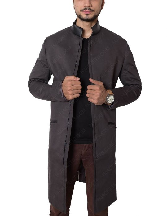 david morrissey trench coat