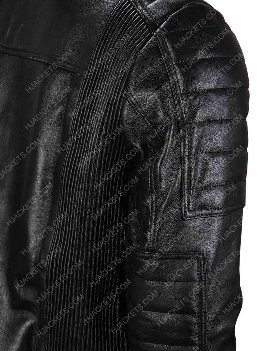 eobard thawne black leather jacket