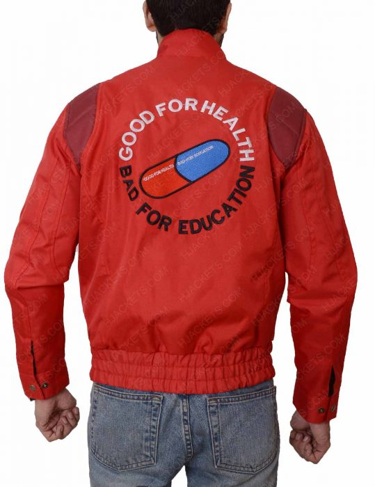 good for health bad for education jacket