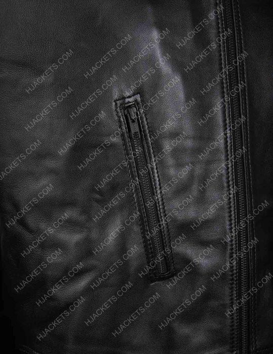legends of tomorrow eobard thawne black leather jacket