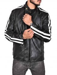 lethal weapon black leather jacket